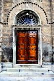 Door of a Greek Orthodox church