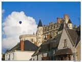 Ballon boven kasteel