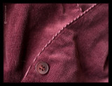 27 - Button Burgundy