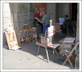 Painter in Madrid