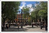 The square in Toledo