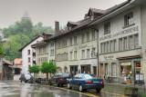 Rain at Place du Petite St - Jean