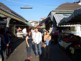 In Naschmarkt bazaar
