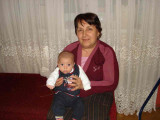 with granny