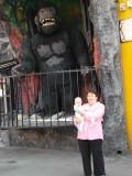 God it's creepy. I mean the Ape!