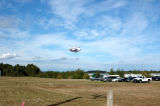 Bell Blimp on arrival at Nanaimo