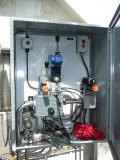 Anchor windlass hydraulic operating panel