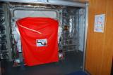 LSA marine evacuation system