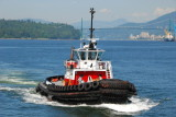 Escort tug while we are in the harbour