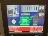Engine page on ECR computer