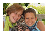 Jolien's 13th birthday, August 2009