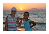 Sunset in Kos August 2007