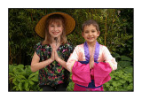 2 girls, May 2006