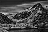 Alien Glacier Landscape