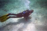 l'Anna (aq foto no és d'aq inmersió però no se on va...) no es nota oi?