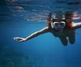 fent l'últim snorkel amb la Miriam