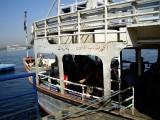 el ferry per anar a l'altra banda de Luxor, per visitar la Vall dels Reis i de les Reines