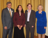 Jean (secnd from left) accepts her 2009 HPPAE Leadership Award as Outstanding Principal Investigator
