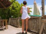 Breezy Atop Schooner Wharf