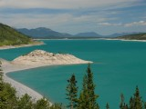 Abraham Lake and vicinity