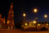 plaza españa blue hour 2