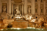 Trevi fountain night 2