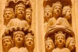 Notre Dame  in Paris detail