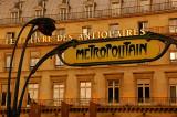 Louvre Metro in Paris