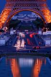 Eiffel Tower blue hour