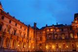 Louvre blue hour 1
