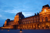 Louvre blue hour 2