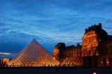Louvre blue hour 3