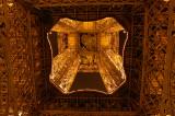 Eiffel Tower worm's eye view