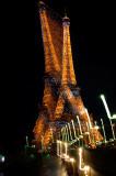 Tilting tower of Eiffel