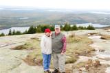 Jill and Mickey on Cadillac Mountain
