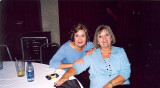 Nancy Grear Mitchell CHS 64 and Connie Wilson Manuel CHS 63 The Blazerettes