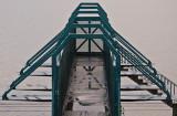 Footbridge on a wet day
