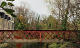 The old rusty bridge