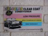 Tri-Color clear coat