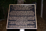 Diamond Head lighthouse plaque