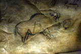parietal art - Niaux caves. a bison 14000 years old...