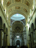 inside the Cathedral of Trapani