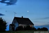 House, Moon & Bird