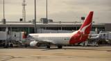 Qantas Flight to Alice Springs