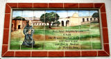 1.  Tile Commemorative of Mission