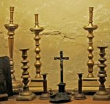 12.  Candelabra and Crucifix