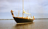 THERMOPYLAE cruising Lake Ontario