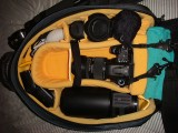 Kata R102 bag loaded with gear
