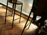July 21  2008:  Stools in a Café