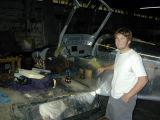 9.26.06 030.jpg  Scott's RV-7a in CNO hangar